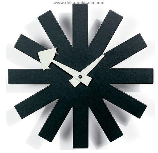 Asterisk Clock Clocks Modern Classic Furniture