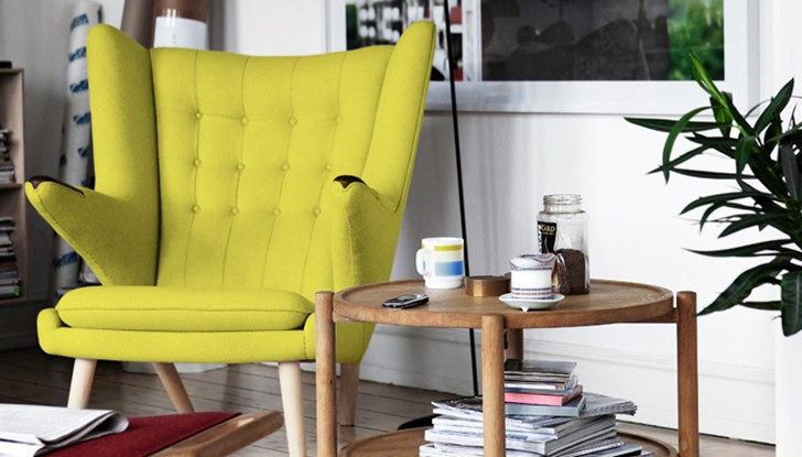 Hans J Wegner Papa Bear Chair Lounge Chair Modern